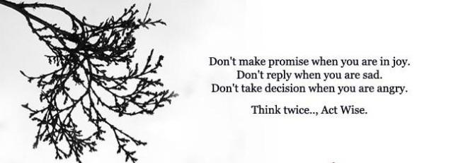 saying